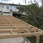 Terrasse ossature bois