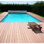 Terrasse piscine bois composite