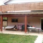 Terrasse surélevée en bois