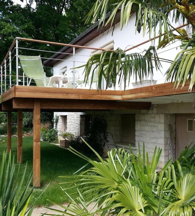 terrasse tendance bois