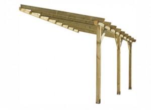 toit de terrasse en bois