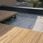 Toit terrasse en bois
