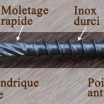 Vis inox pour terrasse bois