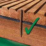 Vis pour terrasse bois